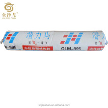 High strength and cohesiveness Neutral Silicone Sealant For Stainless steel doors For and windows building industry