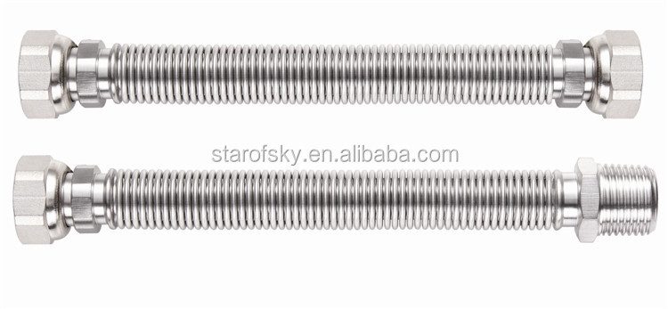 2016 NEW Taizhou starofsky ASTM 304 316L stainless steel corrugated tube pipe