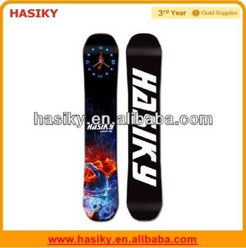 2014 New Design Mechanical Bamboo Snowboards