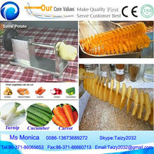 potato spring cutting machine/machine potato twister