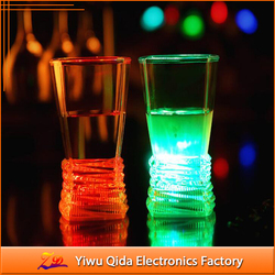 wholesale eco-friendly PS party led glowing cup