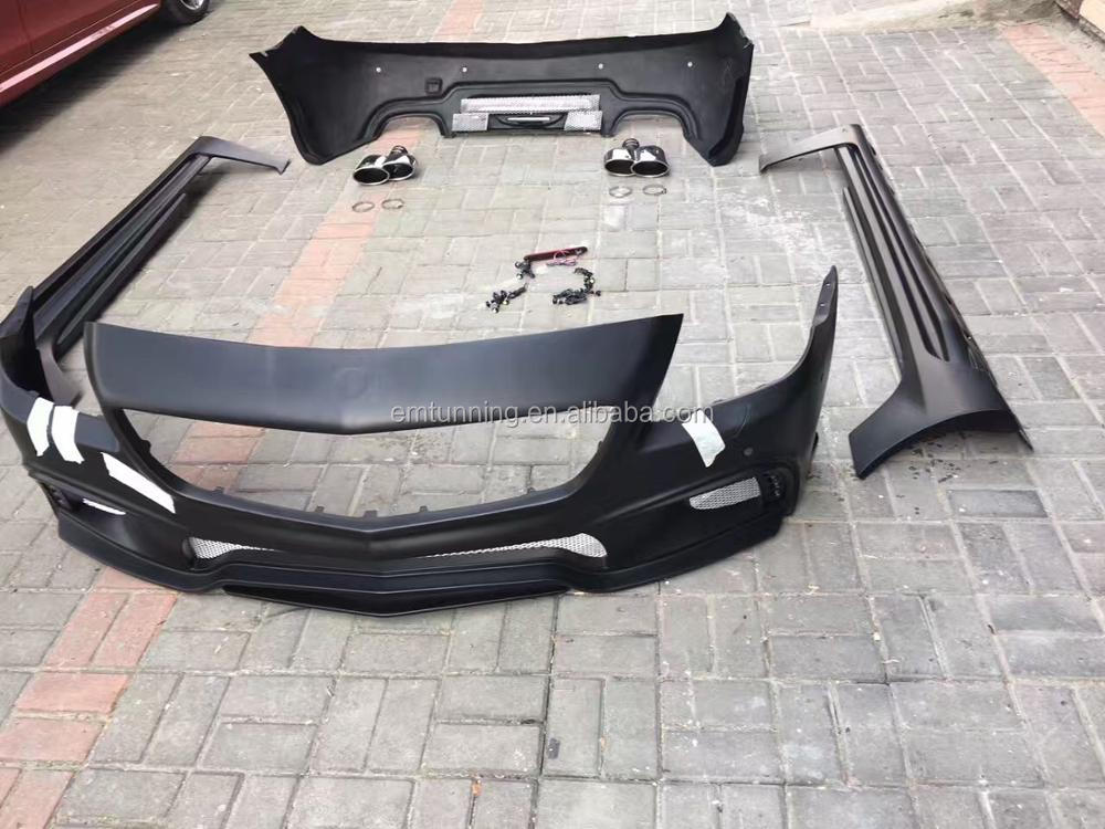 new arrival wald style body kit for R172 SLK MERCEDE BENS FRP material perfect fitment