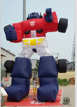inflatable Optimus Prime for advertising