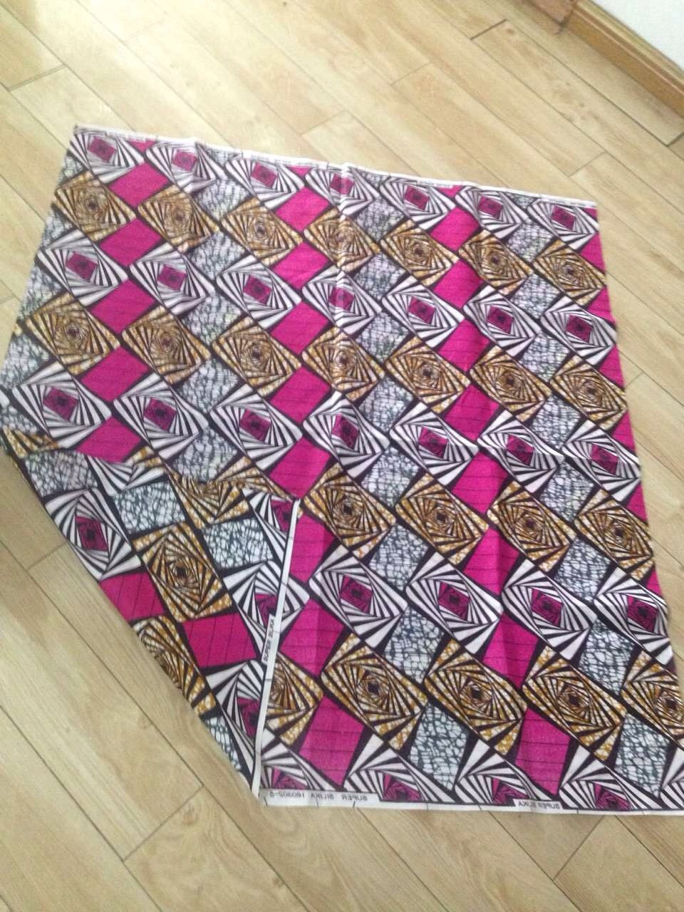 Stock 110gsm micforiber brush disperse print fabric for Africa market