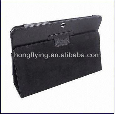 2013 New style,Leather Case for Samsung P5100 Galaxy Tab2 10.1, Customized Colors are Welcomeor Recliner