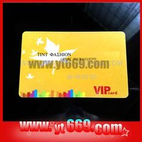 colorful plastic invitation card
