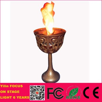 Good Quality Home Decoration 10W Antique LED Table Silk Flame Effect Light