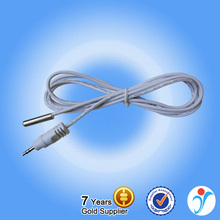 High Sensitive White Shielded Wire Digital Water Vibration Temperature Sensor DS18B20