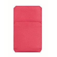pocket slot genuine leather designer phone case