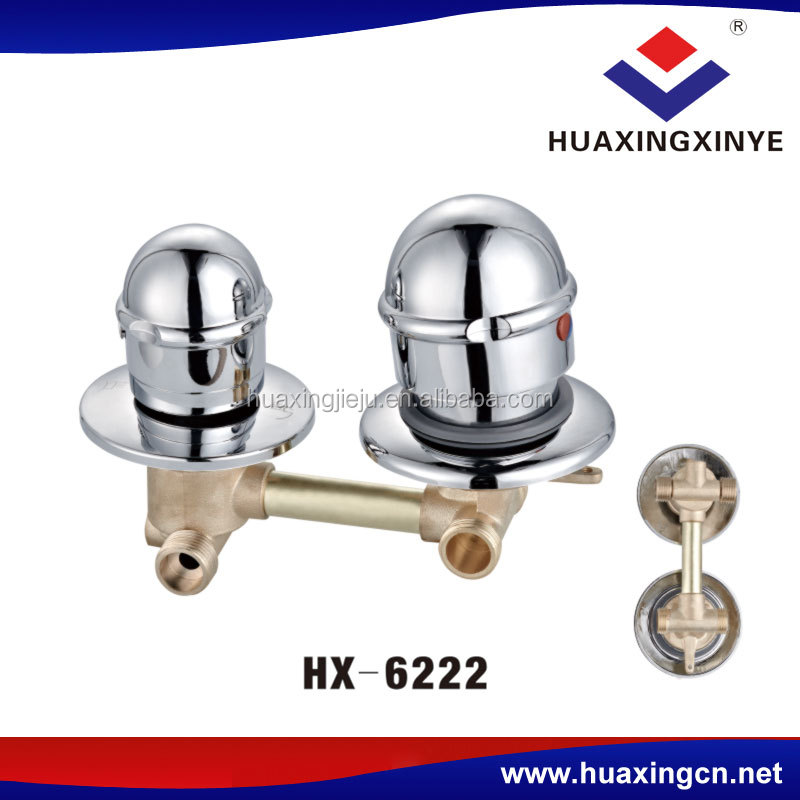Factory price bathroom tap durable stop water valve HX-6222 shower valve faucet