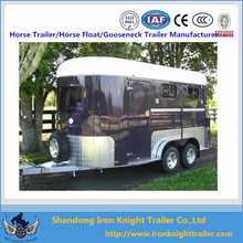 2 Horse Straight Load Float Extended 600/professional manufacturer horse trailer
