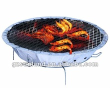 Round Disposable Grill one time use bbq grill