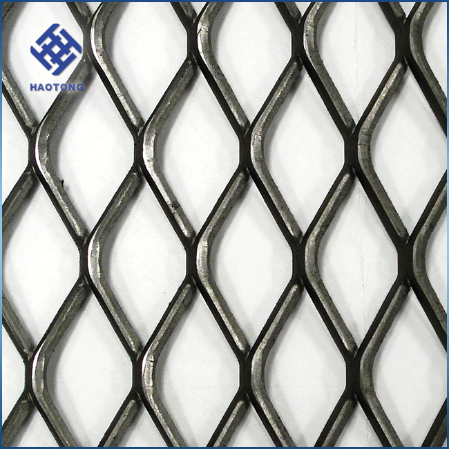 Haotong Manufacture Galvanized And PVC Coated Expanded Metal Sheet Price