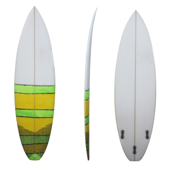 Painted surfboard High Strength Customized PU Marine Surfboard