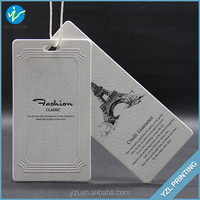 Custom Jeans Hang Tag For Garment Packaging