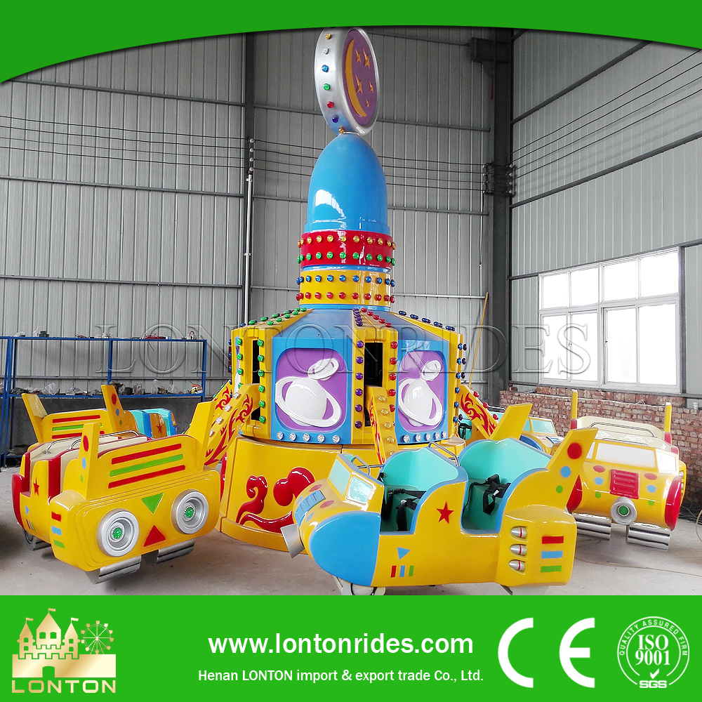 Kids happy crazy dancing car amusement jump around rides with best price