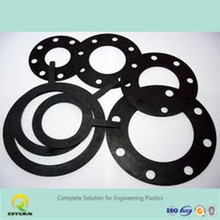 high impact strength uhmwpe gasket/ anti-abrasion plastic washer/ hdpe irregular parts