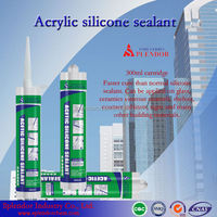 acetic silicone sealant/ acrylic-based silicone sealant supplier/ adhesives & sealants
