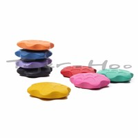 Children Drawing Flower Shaped Water Soluble Color Crayons