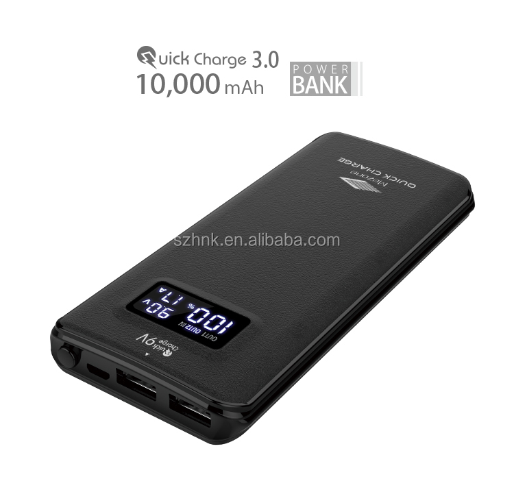 fast charge top selling universal powerbank 2017 super waterproof solar power bank 10000mah dual usb charger