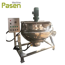 Industrial automatic gas cooking mixer / fruit jam cooking mixer machine