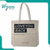 Loved by the American market cotton shopping bag Standard Size