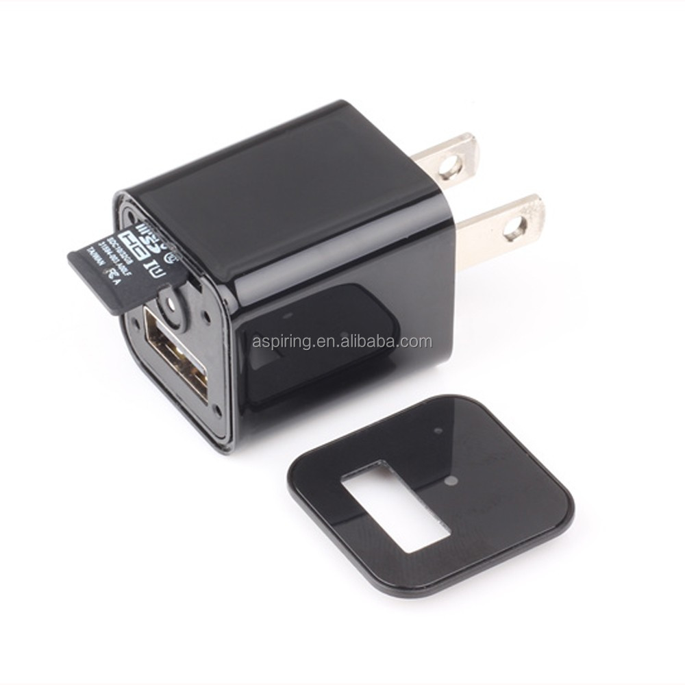 1080P HD Plug spy wireless Cameras adapter socket charger ac adapter camera
