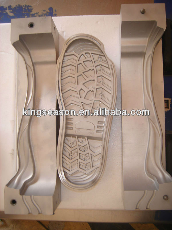 Plastic shoes mould maker /Rubber sole mould maker