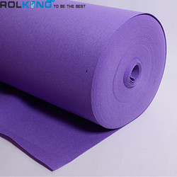 100% polyester 2mm 5mm 10mm 15mm 20mm thickness Hard and thick needle felt filter cloth felt pad