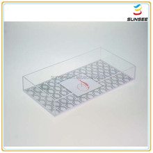 professional manufacturer chinese supplier acrylic serving tray