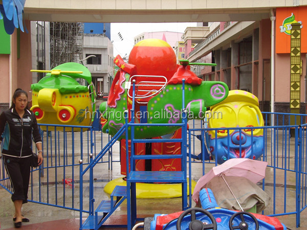 China made 3 cabins fairground attractions rotary ride Finding Nemo Self-control Plane