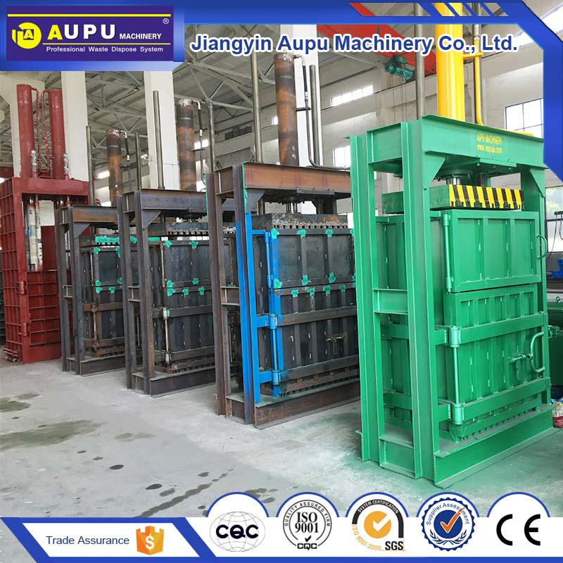 On-time delivery manual hand waste material baler hay bale press