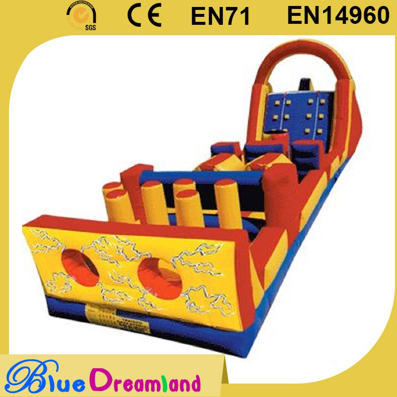 Wholesale inflatable tunnel obstacle course provider
