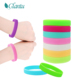 silicone mosquito repellent bracelet /insect repellent silicone band