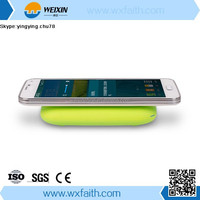 Qi External Backup Battery Wireless Charger with 4000mAh Battery for Smart Phone