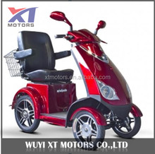 500w 48v 20A Brushless Motor Economical Four Wheel Electric Scooter