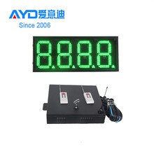 Hot Sale Gas Station Electronic LED Oil Screen Retailer