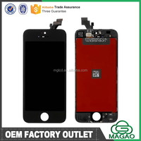 "Mobile Phone Accessories For iphone 5 LCD Screen Assembly, For Apple iphone 5"" original lcd"