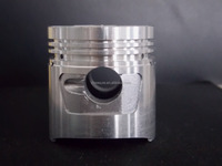 Piston with rings standard size for motorcycle engine