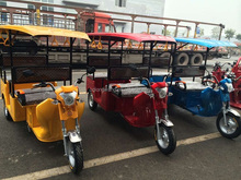 Best-selling Tricycle battery powered bajaj three wheeler price/2016 China factory price Electric Tricycle Tuk Tuk
