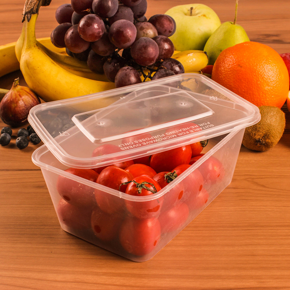wholesale clear plastic container with lid for strawberry cotton