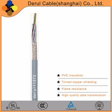 High flex signal data cable for transmission wire