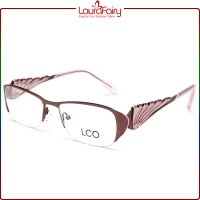 Laura Fairy Brand Name Half Rim Optical Frames Manufacturers In China Oculos De Grau