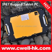 QCOM S100 IP67 Waterproof Rugged Tablet 7 Inch Gorilla Glass Touch Screen 16GB ROM 8.0MP 7 inch NFC 3G Tablet