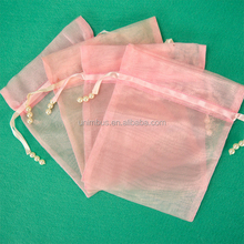"Gold 4x6"" Drawstring Organza Pouch Strong Wedding Favor Gift Candy Bag (Pack of 100pcs)"