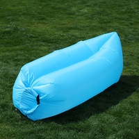 Simple Style Lounge Lay Bag Inflatable Air Sofa For Camping