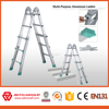 6063-T5 multipurpose aluminium ladder scaffolding decorative chair ladder aluminum stairs