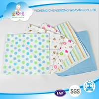 100%cotton fabrics flannel baby diapers made in China
