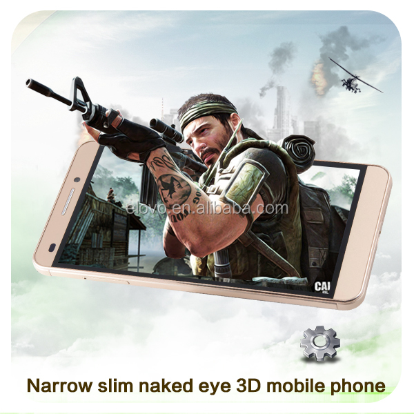 Latest 3D dual <strong>SIM</strong> mobile 5.5 inch with naked eye 3D 4G Lte Smart Phone
