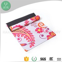 Personalized flower eco design rubber yoga mat sales in bangkok
